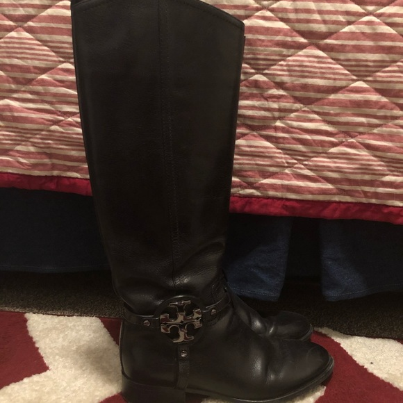 6c49edcdd0a1 Tory Burch Riding Boot Amanda or Aaden 8.5